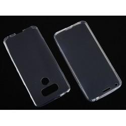 """Skaidrus silikoninis dėklas LG G6 H870 telefonui """"Fitty Double"""""""