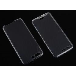 """Skaidrus silikoninis dėklas Huawei P10 Plus telefonui """"Fitty Double"""""""
