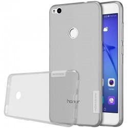 """Pilkas silikoninis dėklas Huawei P8/P9 Lite 2017 telefonui """"Nillkin Nature"""""""