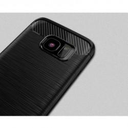 """Juodas silikoninis dėklas Samsung Galaxy J1 2016 telefonui """"Jelly Metallic"""""""