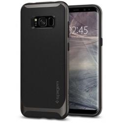 "Juodas dėklas Samsung Galaxy S8 G950 telefonui ""Spigen Neo Hybrid"""