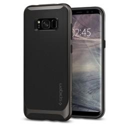 """Juodas dėklas Samsung Galaxy S8 Plus telefonui """"Spigen Neo Hybrid"""""""