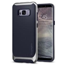 """Sidabrinės spalvos dėklas Samsung Galaxy S8 Plus telefonui """"Spigen Neo Hybrid"""""""