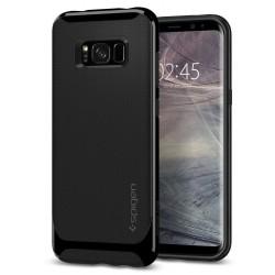 """Blizgus juodas dėklas Samsung Galaxy S8 Plus telefonui """"Spigen Neo Hybrid"""""""