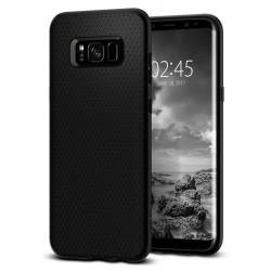 """Juodas dėklas Samsung Galaxy S8 G950 telefonui """"Spigen Liquid Air"""""""