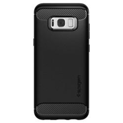 Lenktas juodas apsauginis grūdintas stiklas Samsung Galaxy S7 telefonui