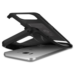 """Raudonos spalvos odinis atverčiamas """"Nillkin Qin"""" Apple iPhone 7 /8 dėklas"""
