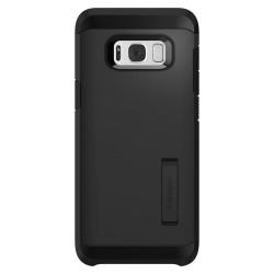 """Odinis rudas atverčiamas dėklas Samsung Galaxy J7 2016 telefonui """"Nillkin Qin S-View"""""""