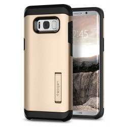 """Auksinės spalvos dėklas Samsung Galaxy S8 Plus G955 telefonui """"Spigen Tough Armor""""a"""