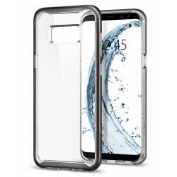 """Auksinės spalvos plastikinis dėklas Huawei P8 Lite telefonui """"Nillkin Frosted Shield"""""""