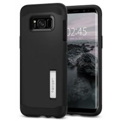 """Juodas dėklas Samsung Galaxy S8 G950 telefonui """"Spigen Slim Armor"""""""