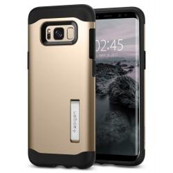 """Auksinės spalvos dėklas Samsung Galaxy S8 G950 telefonui """"Spigen Slim Armor"""""""