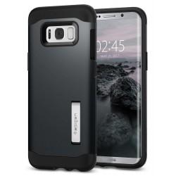 """Pilkas dėklas Samsung Galaxy S8 Plus G955 telefonui """"Spigen Slim Armor"""""""