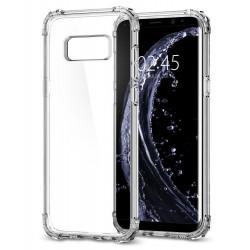 "Skaidrus dėklas Samsung Galaxy S8 G950 telefonui ""Spigen Crystal Shell"""