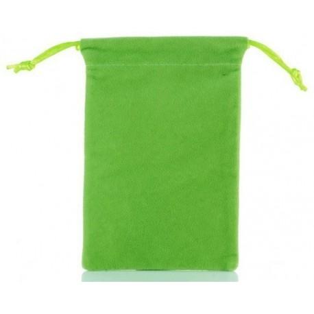 Žalias medžiaginis universalus dėklas telefonams 4.5'