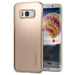 """Auksinės spalvos dėklas Samsung Galaxy S8 Plus G955 telefonui """"Spigen Thin Fit"""""""