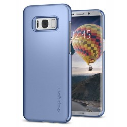"Mėlynas dėklas Samsung Galaxy S8 Plus telefonui ""Spigen Thin Fit"""