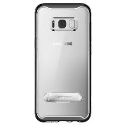 """Odinis juodas atverčiamas dėklas Samsung Galaxy J7 2016 telefonui """"Nillkin Qin S-View"""""""