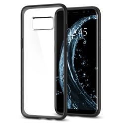 "Juodas dėklas Samsung Galaxy S8 G950 telefonui ""Spigen Ultra Hybrid"""