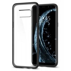 "Juodas dėklas Samsung Galaxy S8 Plus G955 telefonui ""Spigen Ultra Hybrid"""