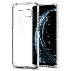 "Skaidrus dėklas Samsung Galaxy S8 G950 telefonui ""Spigen Ultra Hybrid"""