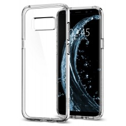 "Skaidrus dėklas Samsung Galaxy S8 Plus G955 telefonui ""Spigen Ultra Hybrid"""