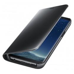 """Juodos spalvos silikoninis """"Mirror"""" Apple iPhone 7 / 8 dėklas"""