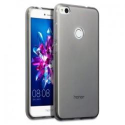 Juodas plonas 0,3mm silikoninis dėklas Huawei P8/P9 Lite 2017 telefonui