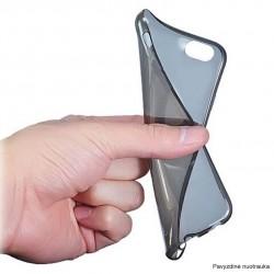 Juodas plonas 0,3mm silikoninis dėklas Huawei P10 telefonui