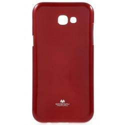 "Raudonas dėklas Mercury Goospery ""Jelly Case"" Samsung Galaxy A5 2017 A520F telefonui"