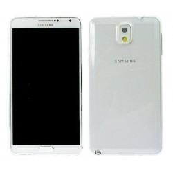 Skaidrus silikoninis dėklas Samsung Galaxy Note 3 telefonui