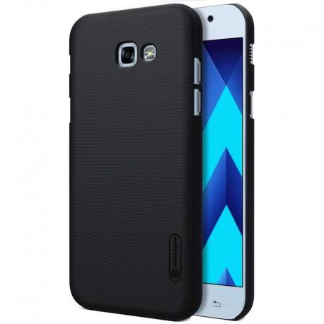 """Juodas plastikinis dėklas Samsung Galaxy A5 2017 telefonui """"Nillkin Frosted Shield"""""""