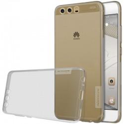 """Pilkas silikoninis dėklas Huawei P10 telefonui """"Nillkin Nature"""""""