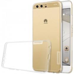 """Skaidrus silikoninis dėklas Huawei P10 Plus telefonui """"Nillkin Nature"""""""