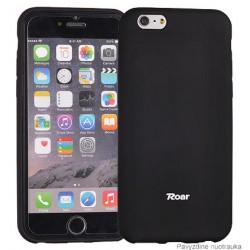 """Juodas dėklas Apple iPhone 7 telefonui """"Roar All Day"""""""