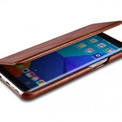 """Mėlynos spalvos atverčiamas """"Telone Book Pocket"""" Apple iPhone 7 / 8 dėklas"""
