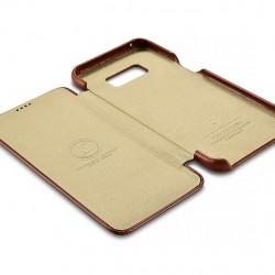"""Auksinis atverčiamas """"Telone Book Pocket"""" Apple iPhone 7 / 8 dėklas"""
