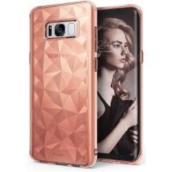 """Rausvai auksinės spalvos dėklas Samsung Galaxy S8 G950 telefonui """"Ringke Prism Air"""""""
