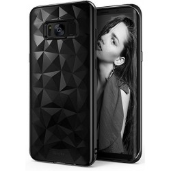 """Juodas dėklas Samsung Galaxy S8 Plus G955 telefonui """"Ringke Prism Air"""""""