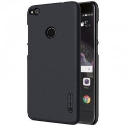 """Juodas plastikinis dėklas Huawei P8/P9 Lite 2017 telefonui """"Nillkin Frosted Shield"""""""