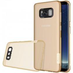 """Rudas - skaidrus silikoninis dėklas Samsung Galaxy S8 G950 telefonui """"Nillkin Nature"""""""