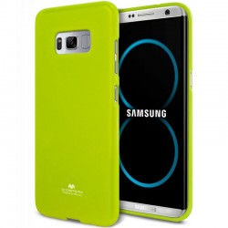 """Žalias silikoninis dėklas Samsung Galaxy S8 G950 telefonui """"Mercury Goospery Pearl Jelly Case"""""""