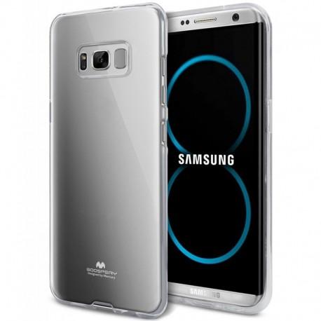 """Skaidrus silikoninis dėklas Samsung Galaxy S8 G950 telefonui """"Mercury Goospery Pearl Jelly Case"""""""
