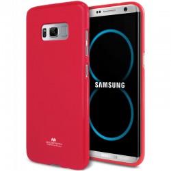 """Rožinis silikoninis dėklas Samsung Galaxy S8 Plus telefonui """"Mercury Goospery Pearl Jelly Case"""""""