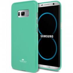 """Mėtos spalvos silikoninis dėklas Samsung Galaxy S8 Plus telefonui """"Mercury Goospery Pearl Jelly Case"""""""