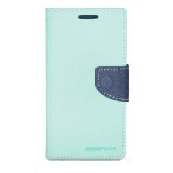 """Šviesiai mėlynas atverčiamas dėklas LG G3 telefonui """"Mercury Fancy Diary"""""""