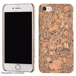 """Kamštinės dangos dėklas Apple iPhone 7 telefonui """"Cork Case"""""""