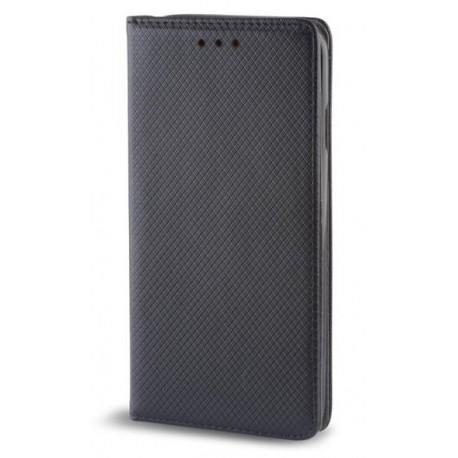 """Juodas atverčiamas dėklas Samsung Galaxy A5 2017 telefonui """"Smart Book Magnet"""""""