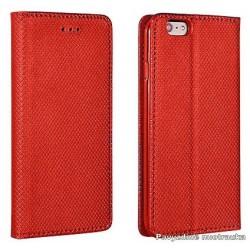 """Raudonas silikoninis dėklas Samsung Galaxy S7 telefonui """"Jelly Metallic"""""""