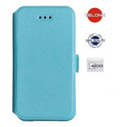 """Mėlynas atverčiamas dėklas Samsung Galaxy J3 2016 telefonui """"Telone Book Pocket"""""""